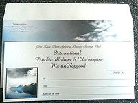 Martin Hopgood Psychic Medium - Gift Vouchers