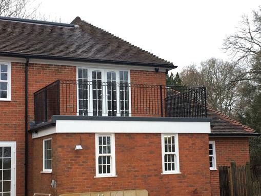 Balcony Railings Installation