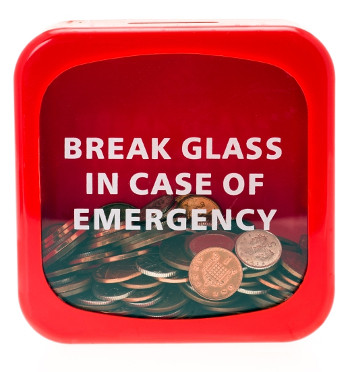 Setting up a household emergency fund will help alleviate money stress