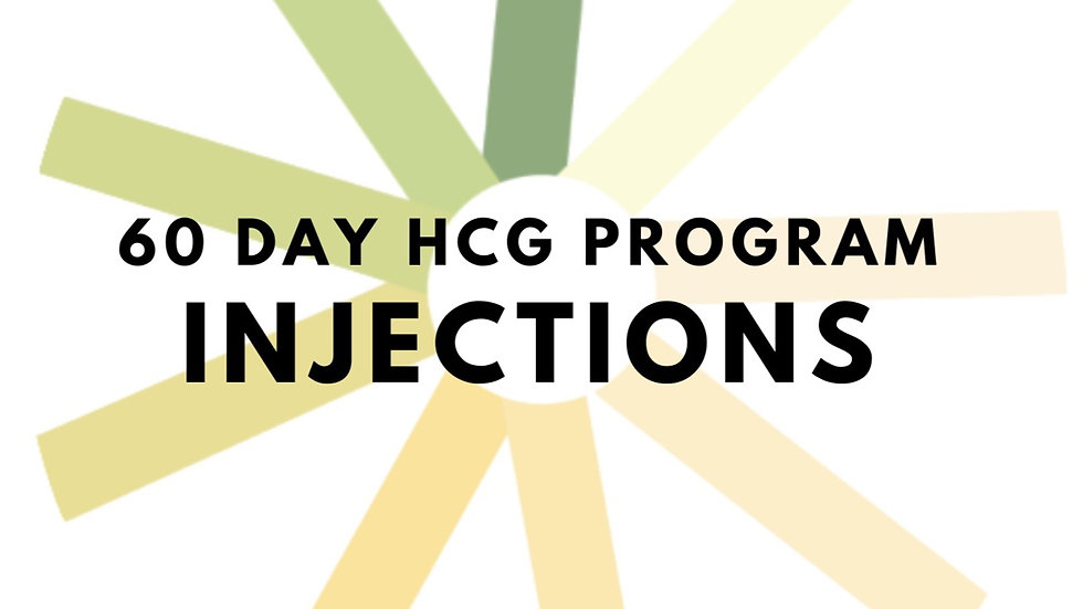 60 Day hCG Program - Injections