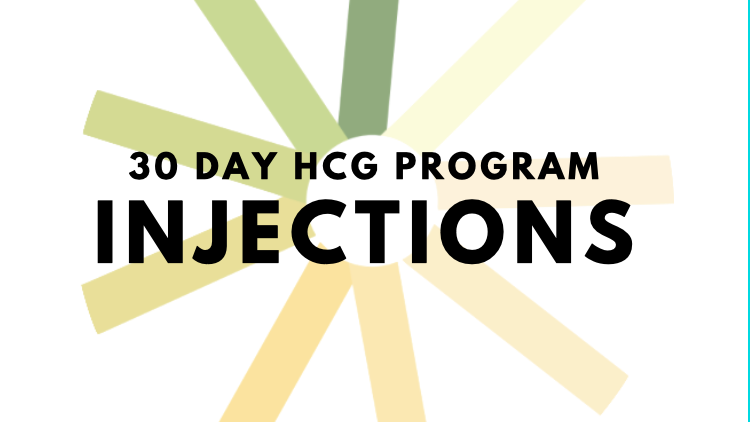 30 Day hCG Program-Injections