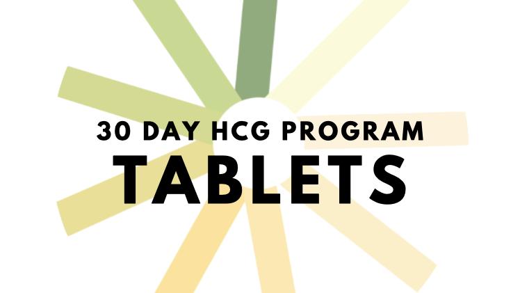 30 Day hCG Program- Tablets