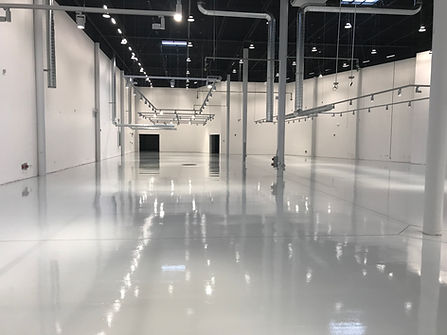 beautiful laminate floors at a warehouse