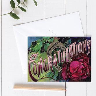 Congratulations - Item # CON10300 (set of 3)
