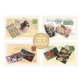 Note Card Sets - Item # NOTE018  (set of 12)