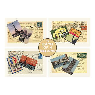 Note Card Sets - Item # NOTE028  (set of 12)