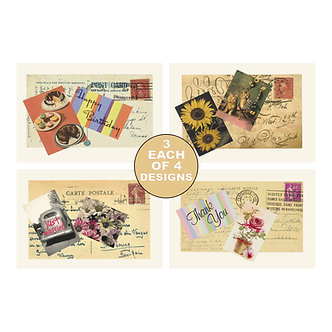 Note Card Sets - Item # NOTE023  (set of 12)
