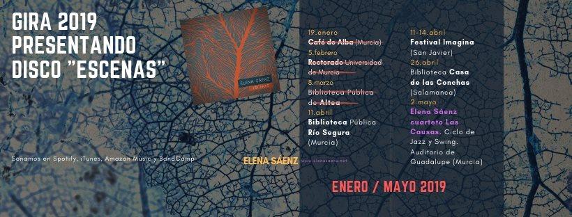 Gira 2019 Elena Saenz
