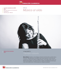 2019 CajaMurcia Musica al oido Elena Sae