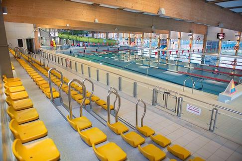 Trybuny Pływalni