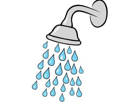 Prysznice w szatni rodzinnej oraz męskiej są już dostępne