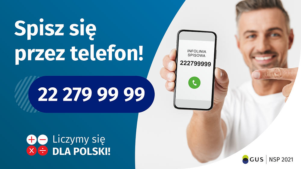 Spisz się przez telefon 222799999 Plakat