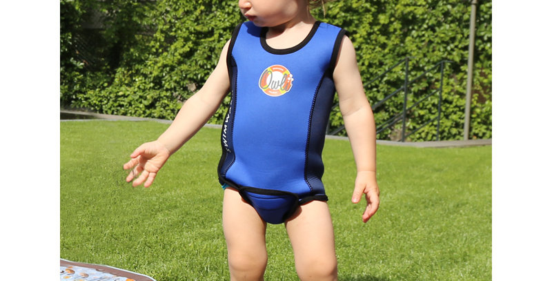 Owli Swimwarm Baby Wetsuit Blue