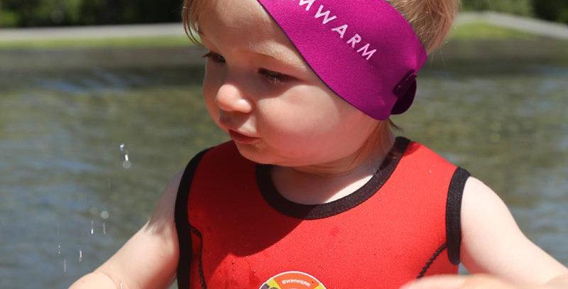 Owli Swimwarm Ear Band, Baby - Pink