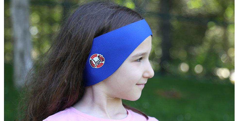 Owli Swimwarm Ear Band, Child - Blue