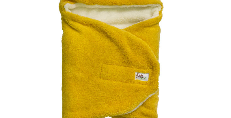 Owli Outdoor Swaddle Mustard 0-6 Months