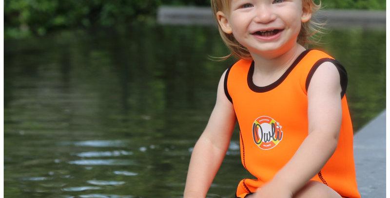 Owli Swimwarm Baby Wetsuit Orange