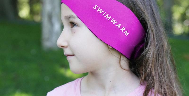 Owli Swimwarm Ear Band, Child - Pink