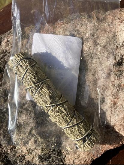 Mugwort Smudge Stick