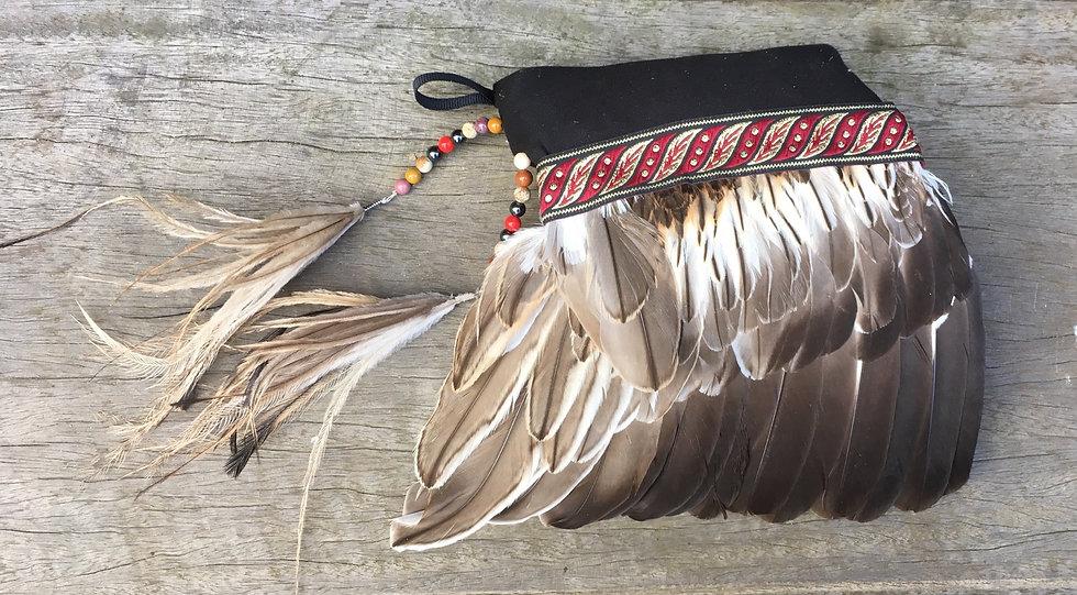 Curlew & Emu Smudge Fan