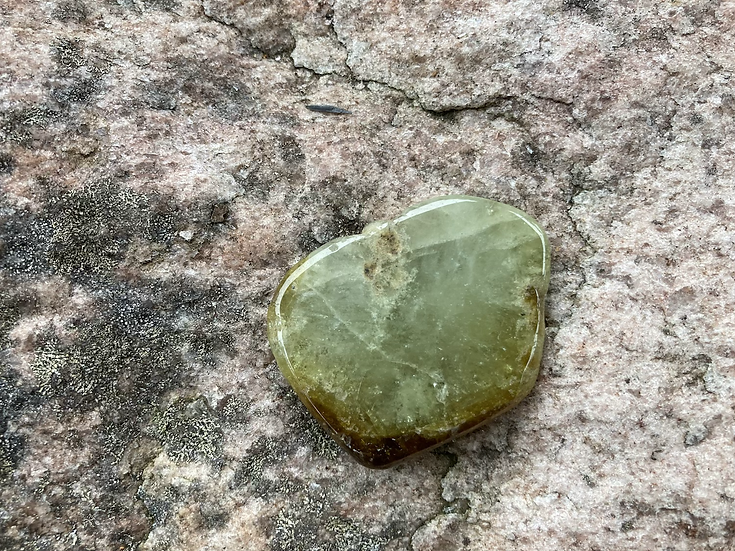 Green Garnet Slice