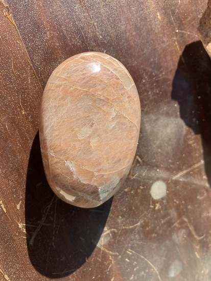 Peach Moonstone Palmstone