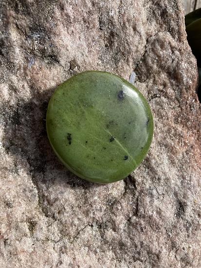 Nephrite Jade Flat Stone