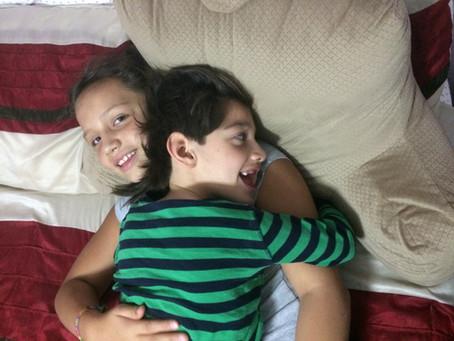 Mis hijos y la alarma sísmica.