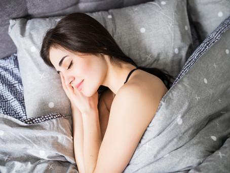 Para rendir mejor tienes que dormir bien
