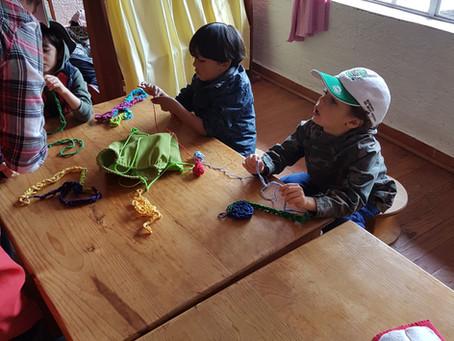 Las actividades artísticas en los niños.