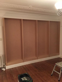 Mdf Bookshelves (4 sections)