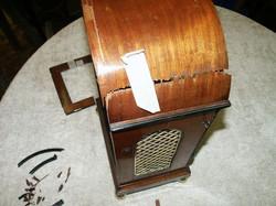 Mahogany Bracket Clock