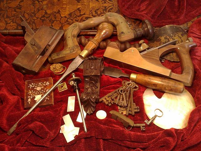 antique restoration tools
