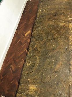 Mahogany Parquetry Floor