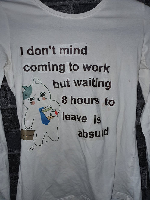 I don't mind coming to work T-shirt
