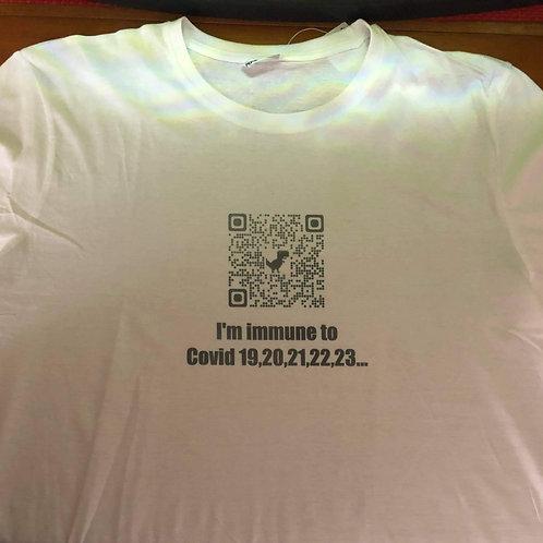 I'm immune t-shirt