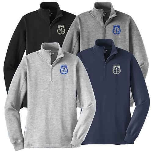 LECOM - Sport-Tek Ladies 1/4-Zip Sweatshirt