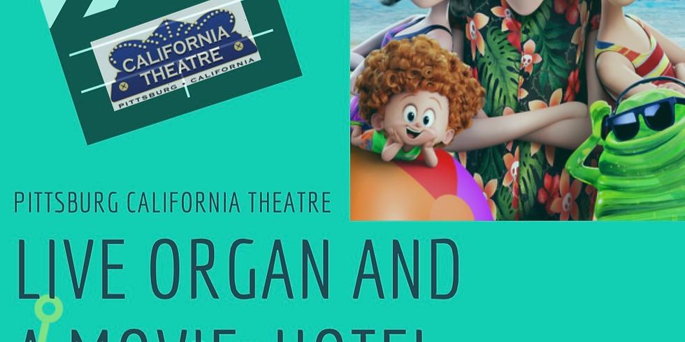 Live Organ & A Movie: Hotel Transylvania 3: Summer Vacation