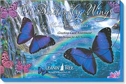 On Butterfly Wings by Alixandra Mullin (Boxed Greeted Cards 1 each of 20 designs