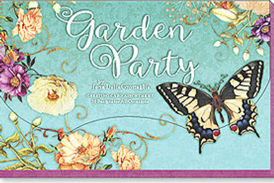 Garden Party by Jena DellaGrollaglia (Boxed Greeted Cards 1 each of 20 designs)