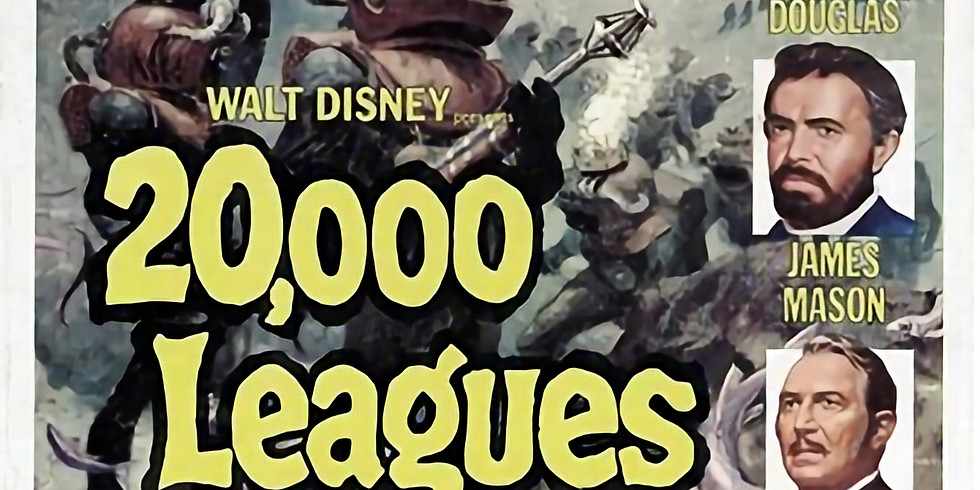 Live Organ & A Movie: 20,000 Leagues Under The Sea
