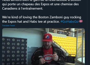 The day I made ice for the Montreal Canadiens