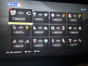 MLB.TV it's amazing!