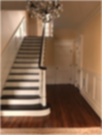 Stairway with Wainscot www.aamillwork.co