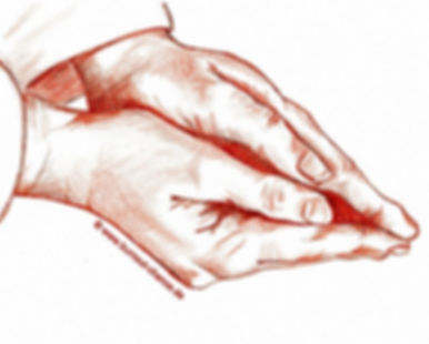 © www.burnout-chance.de, Jürgen Koch-Draheim book author, burnout guidebook, handdrawn book illustrations by Mira Kaufmann, sanguine illustrations 2016, realistic original drawings