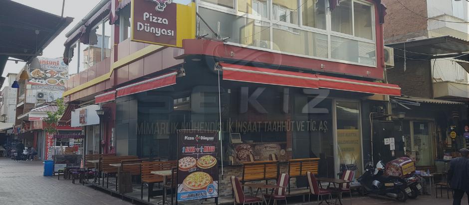 Anahtar Teslim Tadilat Projesi - Pizza Dünyası,Nazilli