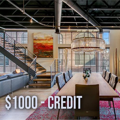 $1000 N&Y Credit