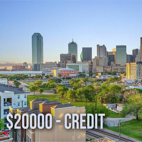 $20000 N&Y Credit