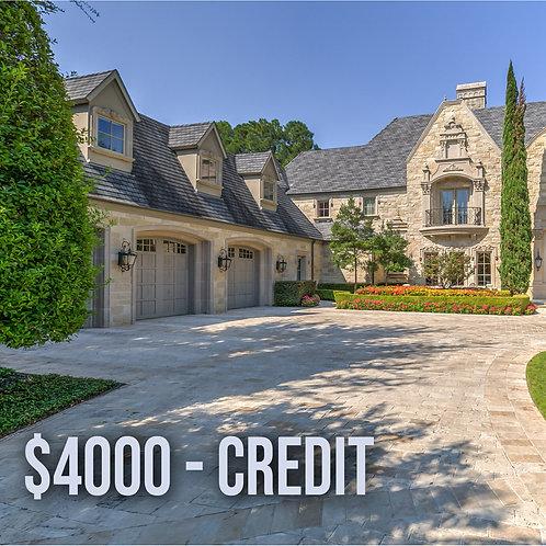 $4000 N&Y Credit