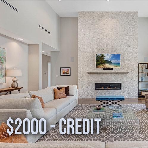 $2000 N&Y Credit